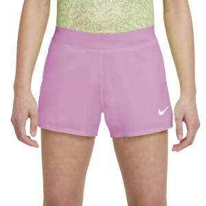 Shorts and Skirts Girl Nike Court DriFIT Victory 3in Shorts Girl  Elemental Pink/White DB5612698