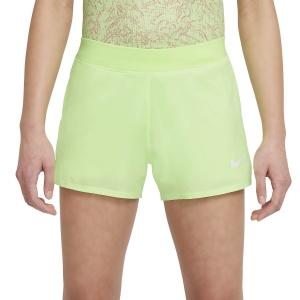 Gonne e Pantaloncini Girl Nike Court DriFIT Victory 3in Pantaloncini Bambina  Lime Glow/White DB5612345