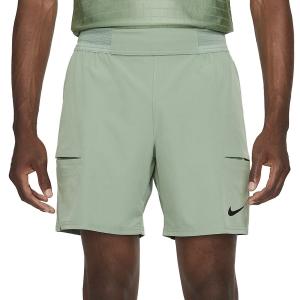 Men's Tennis Shorts Nike Flex Advantage 7in Shorts  Jade Smoke/Black CV5046357
