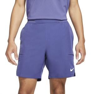 Men's Tennis Shorts Nike Flex Advantage 7in Shorts  Dark Purple Dust/White CV5046510