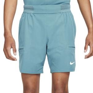 Pantalones Cortos Tenis Hombre Nike Flex Advantage 7in Shorts  Riftblue/White CV5046415