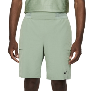 Pantaloncini Tennis Uomo Nike Flex Advantage 9in Pantaloncini  Jade Smoke/Black CW5944357