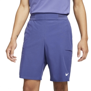 Men's Tennis Shorts Nike Flex Advantage 9in Shorts  Dark Purple Dust/White CW5944510