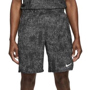Pantalones Cortos Tenis Hombre Nike Flex Victory 9in Shorts  Black/White CV2974010
