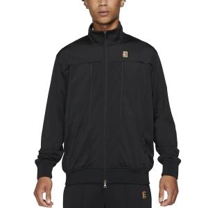 Men's Tennis Jackets Nike Heritage Jacket  Black DC0620010