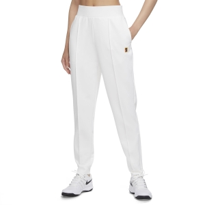 Women's Tennis Pants and Tights Nike Heritage Knit Pants  White DA4722100