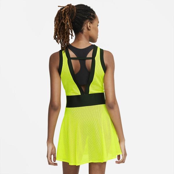 Nike Naomi Osaka NY Dress - Lemon Venom/Bright Crimson