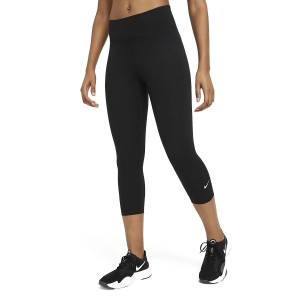 Women's Tennis Pants and Tights Nike One Tights  Black/White DD0245010