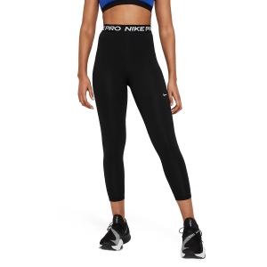Pantalones y Tights de Tenis Mujer Nike Pro 365 7/8 Tights  Black/White DA0483013
