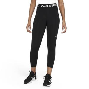 Women's Tennis Pants and Tights Nike Pro 365 Logo Tights  Black/White CZ9803013