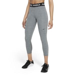 Women's Tennis Pants and Tights Nike Pro 365 Tights  Smoke Grey Heather/Black CZ9803084