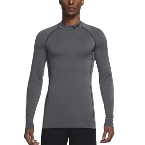 Camisetas y Sudaderas Hombre Nike Pro DriFIT Swoosh Camisa  Iron Grey/Black DD1986068