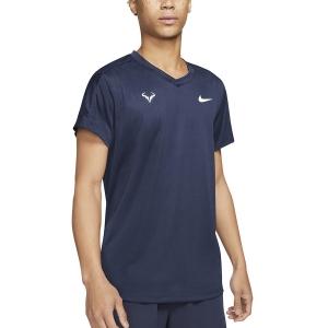 Maglietta Tennis Uomo Nike Rafa Challenger Maglietta  Obsidian/White CV2572451