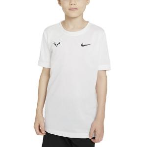Polo y Camisetas de Tenis Nike Rafa Camiseta Nino  White/Black DD2304100