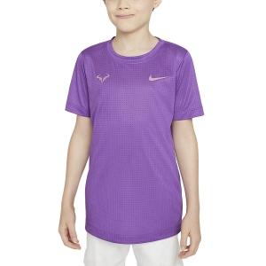 Polo y Camisetas de Tenis Nike Rafa Camiseta Nino  Wild Berry/Elemental Pink DD2304528