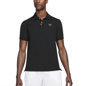 Men's Tennis Polo Nike Rafa Slim 2.0 Polo  Black/White CV2969010