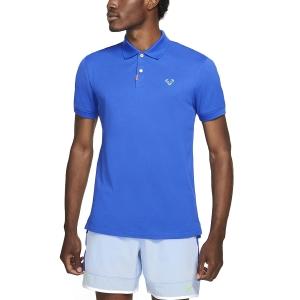 Men's Tennis Polo Nike Rafa Slim 2.0 Polo  Hyper Royal/Lime Glow/Hyper Royal CV2969405