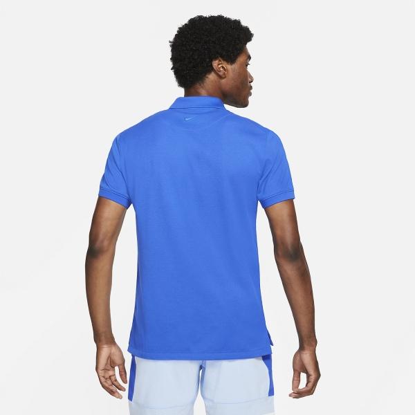 Nike Rafa Slim 2.0 Polo - Hyper Royal/Lime Glow/Hyper Royal