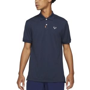 Polo Tenis Hombre Nike Rafa Slim 2.0 Polo  Obsidian/White/Obsidian CV2969452