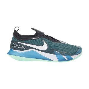 Calzado Tenis Hombre Nike React Vapor NXT Clay  Dark Teal Green/White/Black/Green Glow CV0726324