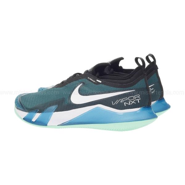 Nike React Vapor NXT Clay - Dark Teal Green/White/Black/Green Glow