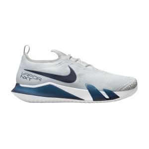 Calzado Tenis Hombre Nike React Vapor NXT HC  Pure Platinum/Obsidian/White CV0724007