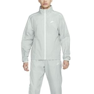 Men's Tennis Suit Nike Sportswear Basic Bodysuit  Light Smoke Grey/White BV3030077