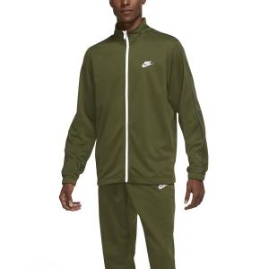Men's Tennis Suit Nike Sportswear Basic Bodysuit  Rough Green/Midnight Navy/White BV3034326