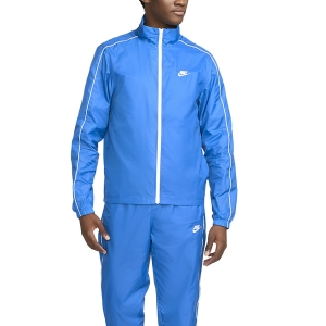 Men's Tennis Suit Nike Sportswear Basic Bodysuit  Signal Blue/White BV3030403
