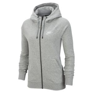 Maglie e Felpe Tennis Donna Nike Sportswear Essential Felpa  Dark Grey Heather/White BV4122063