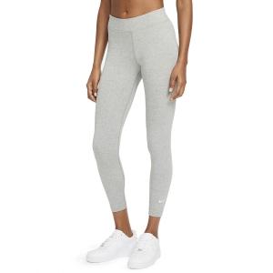 Pantalones y Tights de Tenis Mujer Nike Sportswear Essential Tights  Dark Grey Heather/White CZ8532063