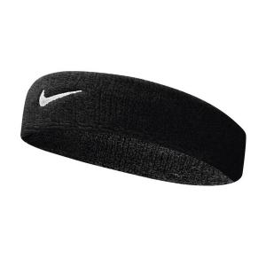 Tennis Headbands Nike Swoosh Headband  Black/White N.NN.07.010.OS