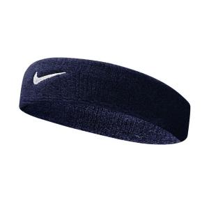 Tennis Headbands Nike Swoosh Headband  Obsidian/White N.NN.07.416.OS