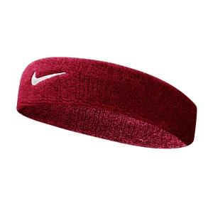 Fasce Tennis Nike Swoosh Fascia  Red/White N.NN.07.601.OS