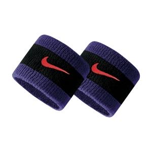 Polsini Tennis Nike Swoosh Polsini Corti  Black/Court Purple/Chile Red N.000.1565.043.OS