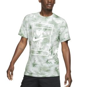 Men's Tennis Shirts Nike TieDye TShirt  White/Steam DD2238101