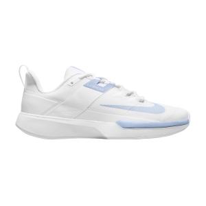 Scarpe Tennis Donna Nike Vapor Lite Clay  White/Aluminum DH2945111