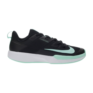 Men`s Tennis Shoes Nike Vapor Lite Clay  Black/Green Glow/White DH2949033