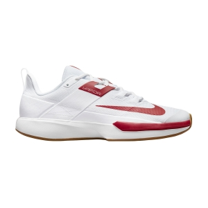 Men`s Tennis Shoes Nike Vapor Lite Clay  White/University Red/Wheat DH2949188