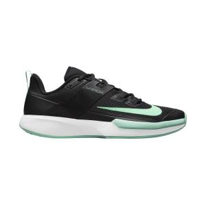 Men`s Tennis Shoes Nike Vapor Lite HC  Black/Green Glow/White DC3432009