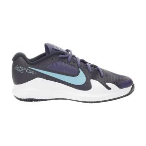 Calzado Tenis Niños Nike Vapor Pro HC Ninos  Dark Raisin/Copa/Black/White CV0863524