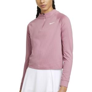 Camisetas y Sudaderas Mujer Nike Victory DriFIT Camisa  Elemental Pink/White CV4697698