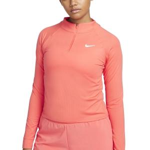 Camisetas y Sudaderas Mujer Nike Victory DriFIT Camisa  Magic Ember/White CV4697814