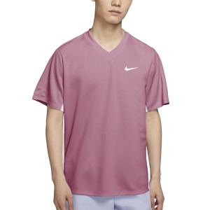 Maglietta Tennis Uomo Nike Victory Maglietta  Elemental Pink/White CV2982698
