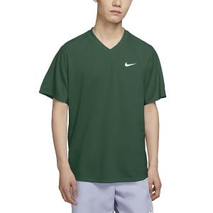 Men's Tennis Shirts Nike Victory TShirt  George Green/Obsidian/White CV2982341