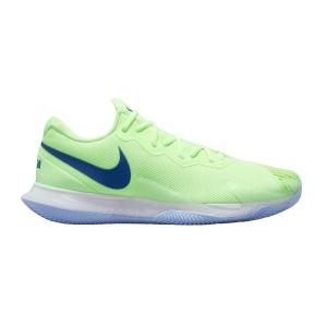 Men`s Tennis Shoes Nike Air Zoom Vapor Cage 4 Rafa Clay  Lime Glow/Hyper Blue/White/Aluminum DM2418333