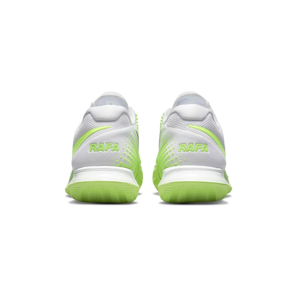 Nike Air Zoom Vapor Cage 4 Rafa Clay - White Lime/Glow Obsidian