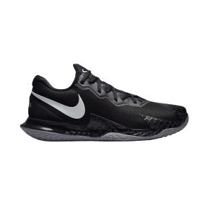 Calzado Tenis Hombre Nike Air Zoom Vapor Cage 4 Rafa HC  Black/Metallic Silver DD1579001