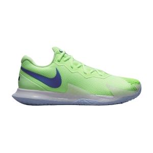 Calzado Tenis Hombre Nike Air Zoom Vapor Cage 4 Rafa HC  Lime Glow/Hyper Blue White DD1579333