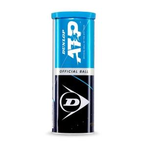 Pelotas Tenis Dunlop Dunlop ATP Official  Tubo de 3 Pelotas 601313